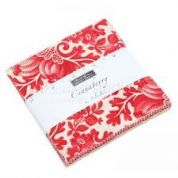 "Cinnaberry - Charm Pack by 3 Sisters for Moda Fabrics - 42 x 5"" fabric squares"